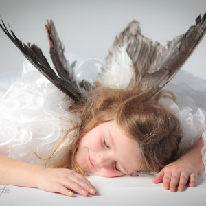 kinderfotografie kerst engel